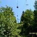 Aufstieg unter der schönen Sesselbahn zum Brentenjoch