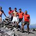 Foto ricordo: Barba, Alberto, Stefano, Paolo, Giorgio
