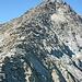 Am meist breiten Kamm geht's in Richtung Gipfel.