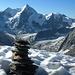 Wellenkuppe, Obergabelhorn und Matterhorn