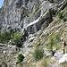 """primo tratto del """"sentiero degli alpini"""""""