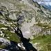 Der Graben auf Alpe Piatto, welcher auf etwa 2150m bequem traversiert werden kann