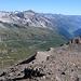 Dalla cima la Val Bedretto