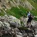 Richtung Weg zum Col de Fenestral