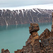 """This kind of """"sculpture"""" is frequent, but as all rocks there very fragile due to the permafrost."""
