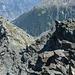 Blick zurück auf den obersten Teil des Aufstiegs vom Emshorn her