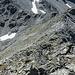 Blick vom Gipfel zur Brunnetlücke