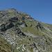 Blick zurück zum Brunnethorn, links ausserhalb des Bild sind wir heruntergekommen