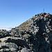 Der Gipfel des Brunnethorns