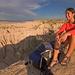Hiking at Red Shirt Table in Badlands National Park, South Dakota