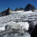 Ochsentaler Gletscher mit Piz Buin Grond