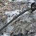 Eis am Stahlseil. Hier ist Vorsicht geboten!