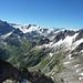 Blick zu Sustenhorn, Gwächtenhorn und mehr...
