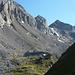 Wildhornhütte und rechts Chilchli