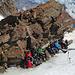 Lauschiges Plätzchen für die Mittagspause im Auf- bzw. Abstieg der [peak3761 Parrotspitze].