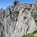 Aufstieg Maukspitze unschwierig über Schrofen - Bildmitte Ackerlspitze