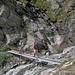 Brücke  über den Rossgletscher-Bach