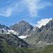 tolles Panorama: Gross Litzner, Gross Seehorn und Klein Litzner