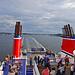 Ausfahrt der Stena Scandinavica aus dem Hafen von Kiel
