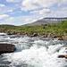 Die Flüsse in Lappland führen immer noch viel Schmelzwasser