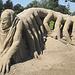 Sandskulptur in Rorschach 3