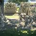 diese Sandskulptur bekam den 1. Preis