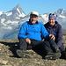 auf dem Hohsandhorn mit Berner Prominenz im Hintergrund ;o)