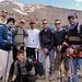 Iranische Bergsteiger wollen mit uns Touristen aufs Foto