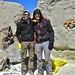 Mein Bruder und ich auf dem Gipfel des Damavand - 5672m