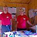 Die Hüttenwarte Curt und Ulla freuen sich, uns auch dieses Jahr wieder zu sehen