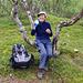 Idealer Rastbank im Birkenwald