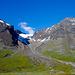 Am Gegenhang der Siehtasglaciären mit typischen Seitenmoränen