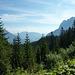 Blick zurück Richtung Garmisch
