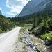Abfahrt durch das schöne Geißbachtal