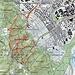 Hier die Ergebnisse des GPS übertragen auf Swisstoppo. Es waren 11.2 km und 1382 Höhenmeter