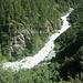 Schluchtartige Abschnitte der La Navisence oberhalb Zinal.