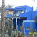 Blaue Villa im Jardin Majorelle