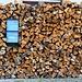HIKR-Vogelexkursion 3.6.2012:<br /><br />Haus in Oltingen (580m) mit viel Holz um den Briefkasten.