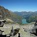 Blick vom Furggelti zum See