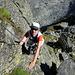 Kleine Kletterstelle am Südgipfel