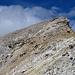 Der erste Teil des Aufstiegs auf den Grat des Corn Suvretta. Ich hielt mich erst etwas links und unterhalb von dem 'Puff' da in der Bildmitte und stieg erst danach zum Grat hinauf.