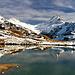 Bachsee mit Grindelwalder Bergprominenz.