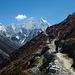 Kurz vor dem Pheriche Pass (4270m)