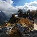 """Sozusagen der  """"Highway"""" hinaus aus dem Khumbu-Gebiet. Kurz vor Namche Bazar."""