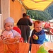 Raubtierfütterung auf der Alp Oberaxen!