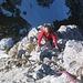 Kletterei am Gimpel Westgrat