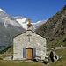 Kapelle mit Weisshorn