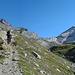 im Aufstieg zum Mettelhorn (nicht zu sehen)