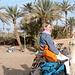 Die Wüstenprinzessin auf dem weißen Kamel Razul