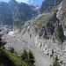 Schuttbedeckter Glaciere de Saleina